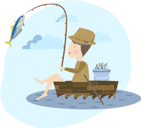 Fische selbst fangen